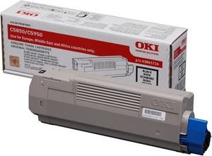 Mực in Oki C5850 Blak Toner Cartridge