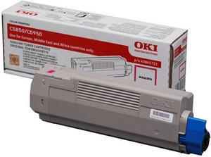 Mực in Oki C5850 Magenta Toner Cartridge