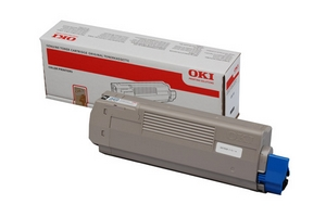 Mực in Oki C610Bk Black Toner Cartridge